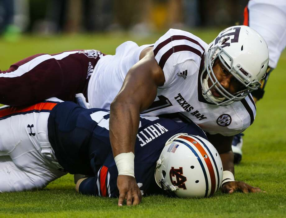 1. Cleveland BrownsDE Myles Garrett, Texas A&M (Previous pick: Garrett)Notes: Garrett is far and away the best prospect in the draft and has a chance to be an immediate impact player. Please don't screw this up by overthinking, Browns. Photo: Butch Dill/Getty Images