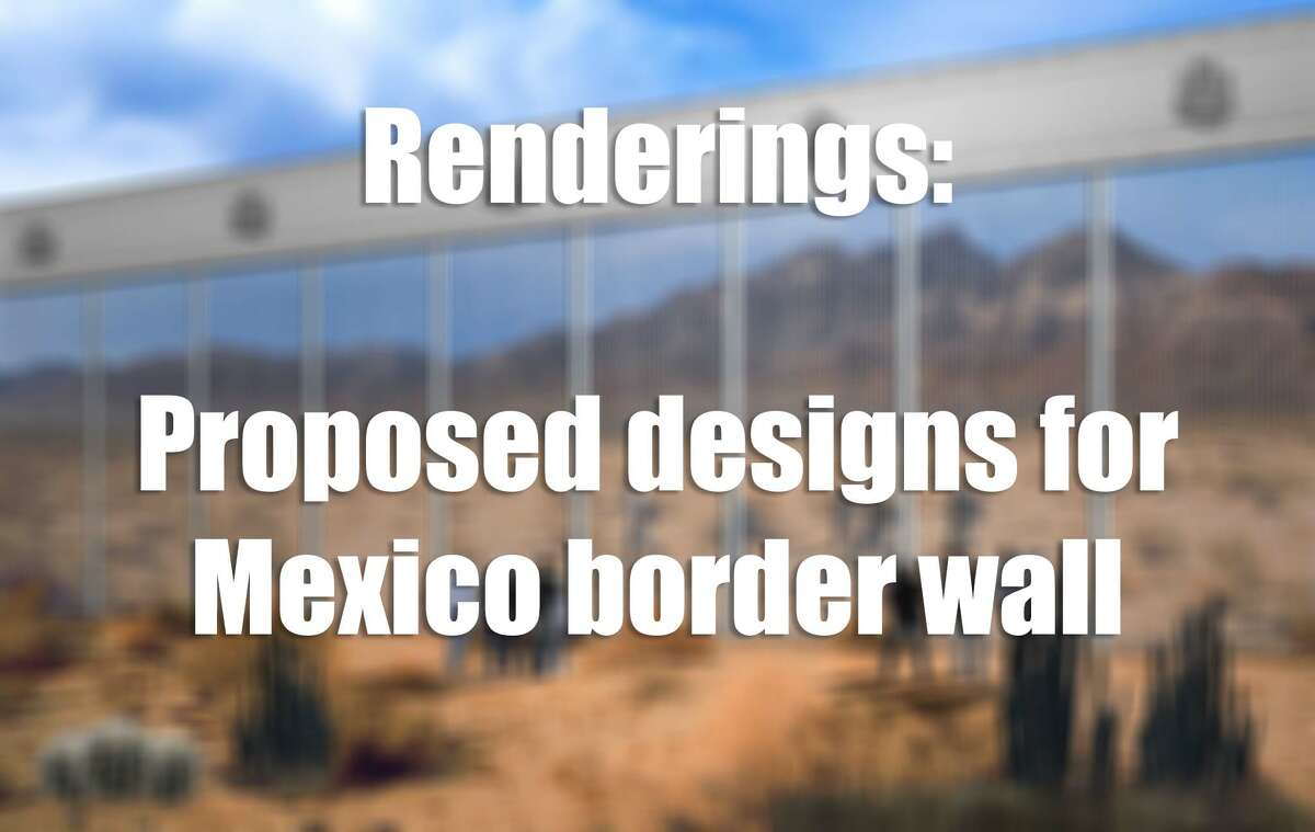 See some of the proposed designs submitted for a potential U.S.-Mexico border wall...