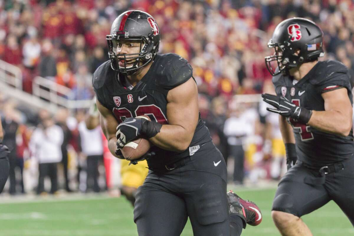 2. San Francisco 49ersDL Solomon Thomas, Stanford (Previous pick: Jamal Adams)Notes: I'd be tempted to go with a quarterback or a difference maker in the back end, but Thomas could be Michael Bennett 2.0, so I'd take him even after spending first-rounders on D-linemen the past two years.