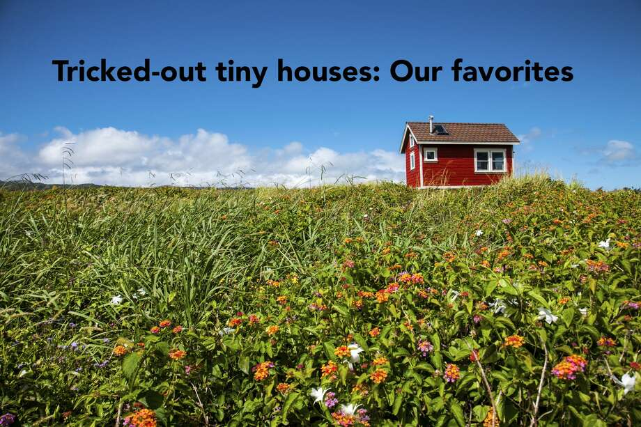 Tiny house living is a growing trend around America.  Photo: Christian Adams/Getty Images