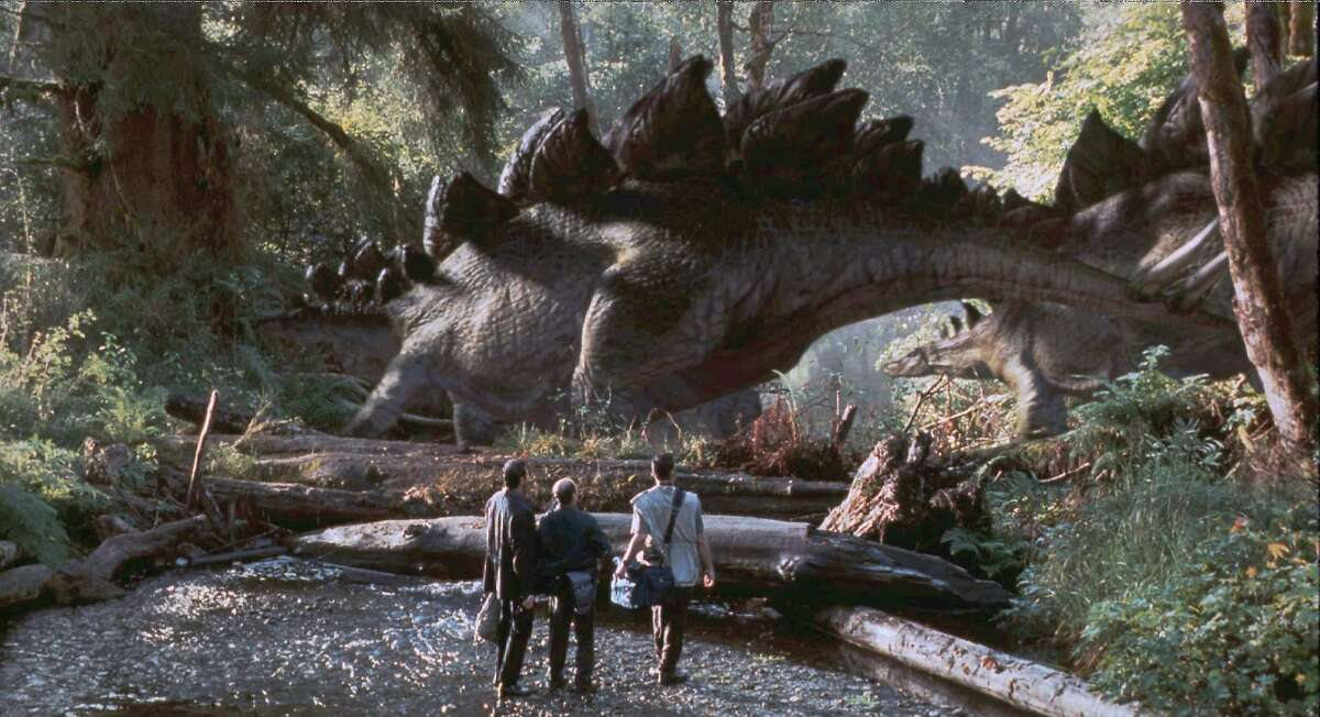 Jurassic Park (1993) | The Lost World: Jurassic Park (1997) | Jurassic Park III (2001)Leaving Netflix Nov. 1 During a preview tour, a theme park suffers a major power breakdown that allows its cloned dinosaur exhibits to run amok.