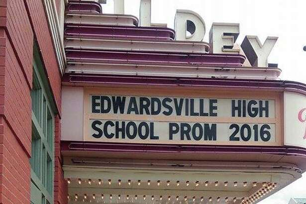 Once again, the Wildey Theatre in downtown Edwardsville will offer prom photo opportunities, both inside the Wildey lobby and outside in front of the north marquee sign.