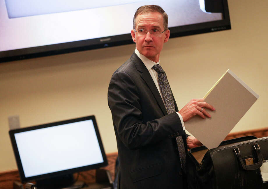 Special Prosecutor Chris Downey  said he is not surprised the 9th Court of Appeals has accelerated his appeal regarding the dismissal of conspiracy to circumvent the Texas Open Meetings Act charges against County Judge Craig Doyal, Precinct 2 Commissioner Charlie Riley and political consultant Marc Davenport. Photo: Michael Minasi, Staff Photographer / © 2017 Houston Chronicle