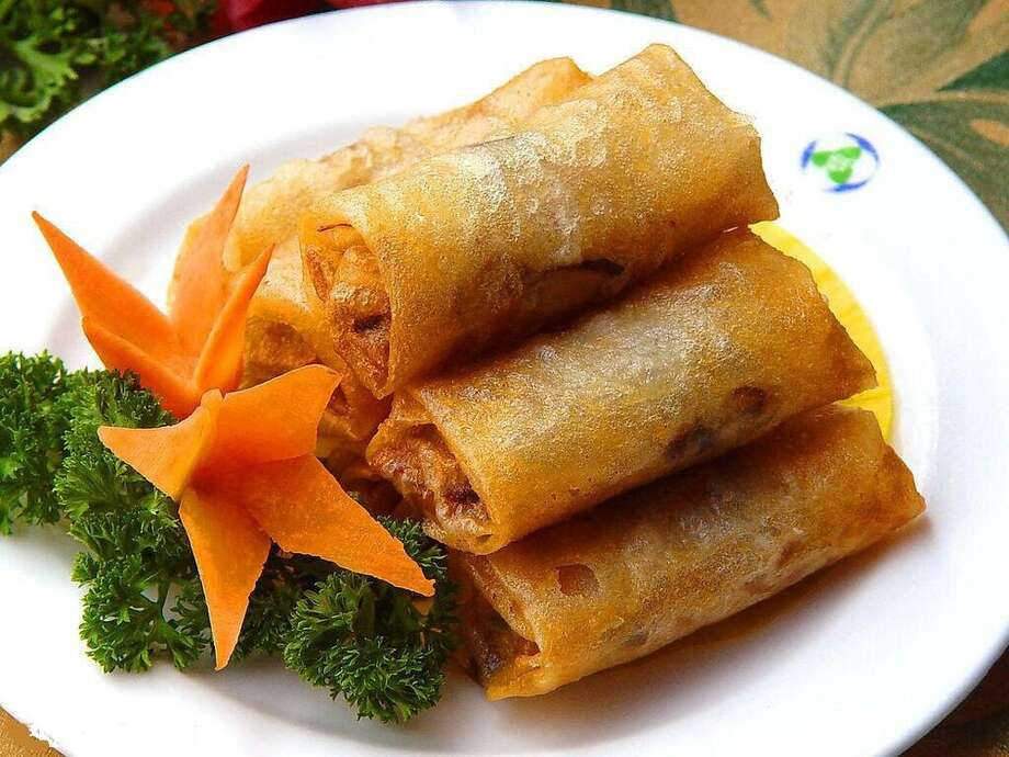 Hunan King 5714 Chimney Rock Houston, TX 77081Demerits: 39Inspection Highlights: Observed cheese puffs at (47-51) degrees F in walk-in cooler overnight. Discard.Observed thick brown residue on tea nozzles. Clean and maintain to prevent accumulations.Photo: Yelp/Ray J. Photo: Yelp