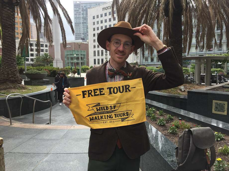 Wes Leslie, co-founder of Wild SF Walking Tours. Photo: Beth Spotswood