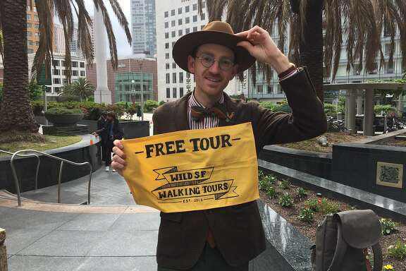 Wes Leslie, co-founder of Wild SF Walking Tours.