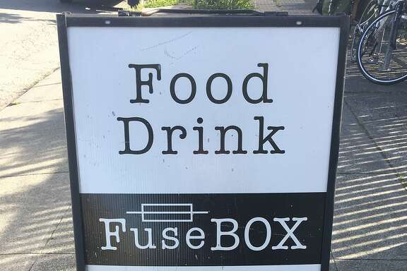 The sign at FuseBox.