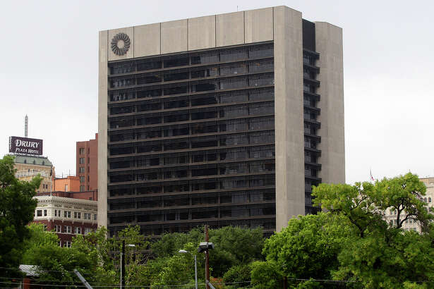 The Frost Bank Tower in San Antonio, Texas Thursday June 26, 2014.
