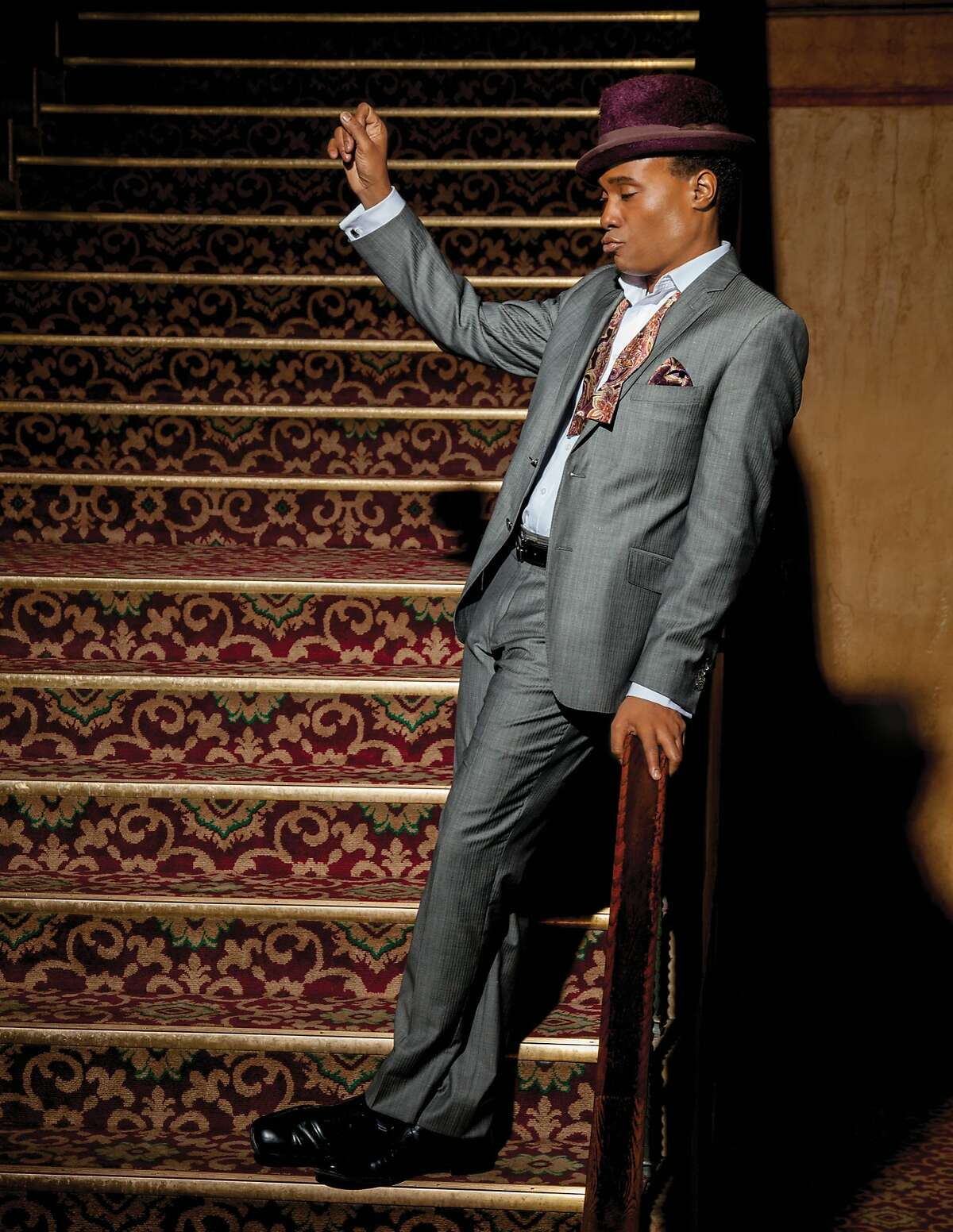 Billy Porter performs Sunday, May 14 at the Venetian Room, Fairmont San Francisco, as part of the Bay Area Cabaret program.
