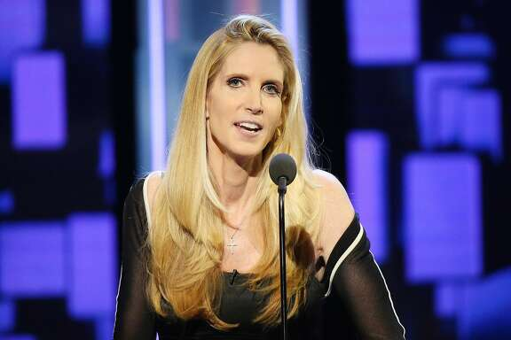 LOS ANGELES, CA - AUGUST 27:  Ann Coulter speaks onstage during The Comedy Central Roast of Rob Lowe held at Sony Studios on August 27, 2016 in Los Angeles, California.  (Photo by Michael Tran/FilmMagic)