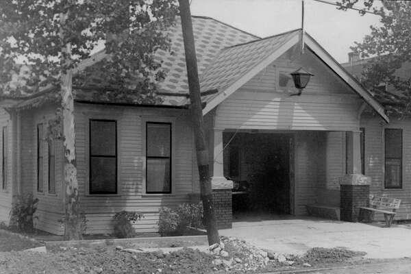 1930 - Houston Fire Station No. 11, northwest corner of Washington Ave. at Fowler.