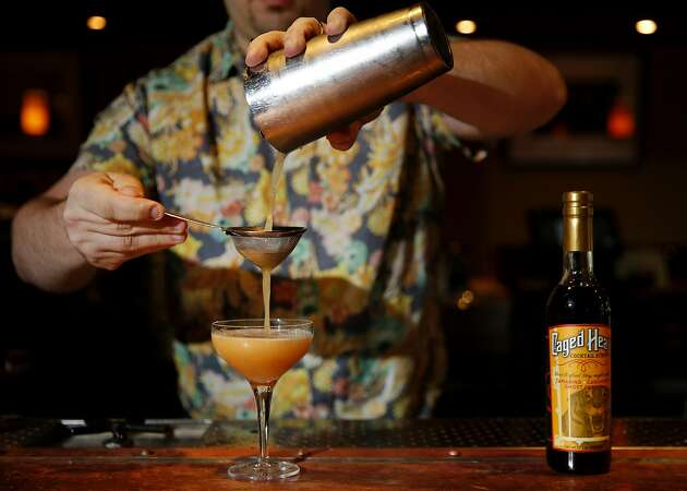 Caged Heat: A spicy cocktail syrup made for bartenders