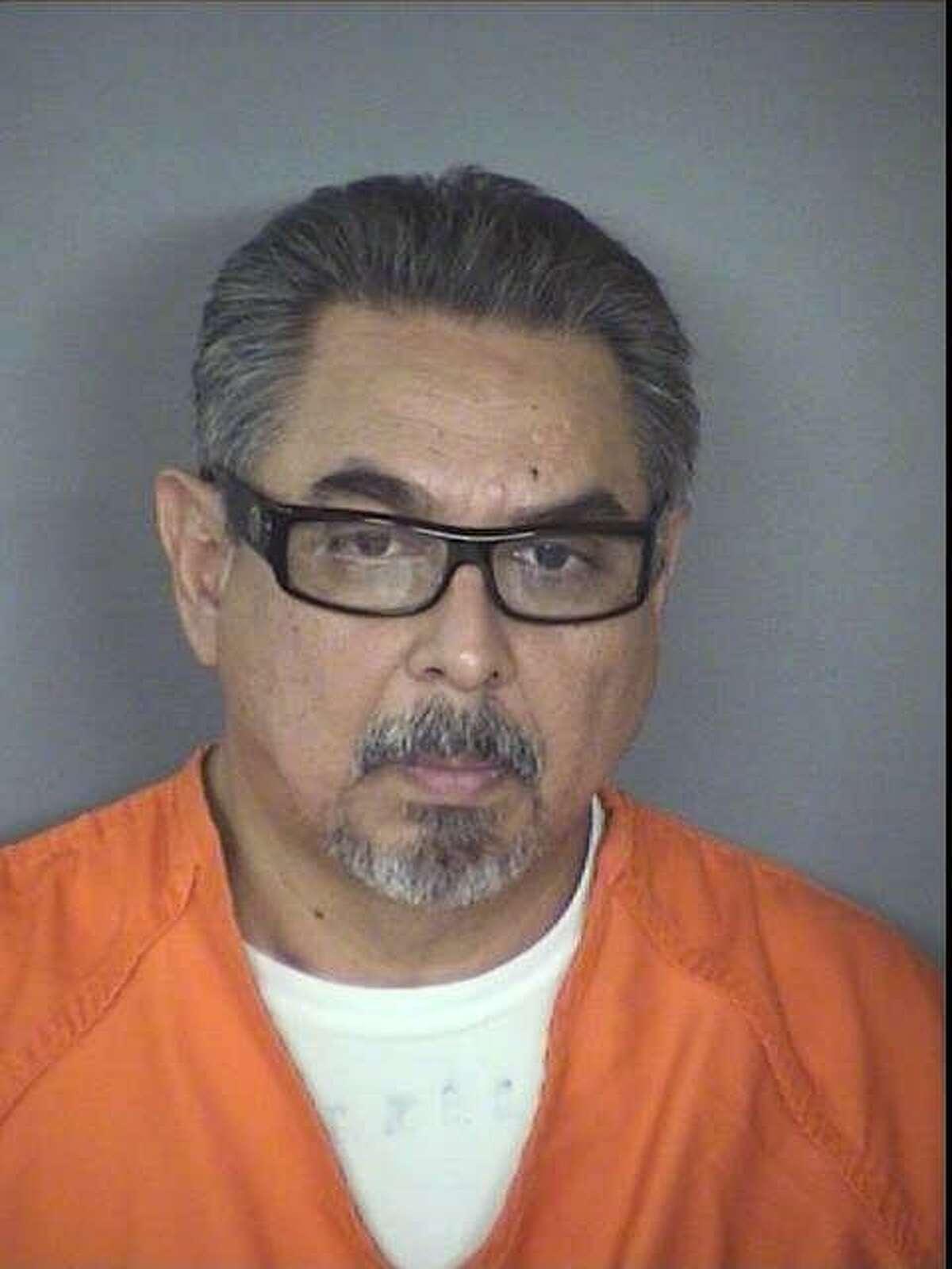 Eddie Martinez pictured after an arrest in 2010.