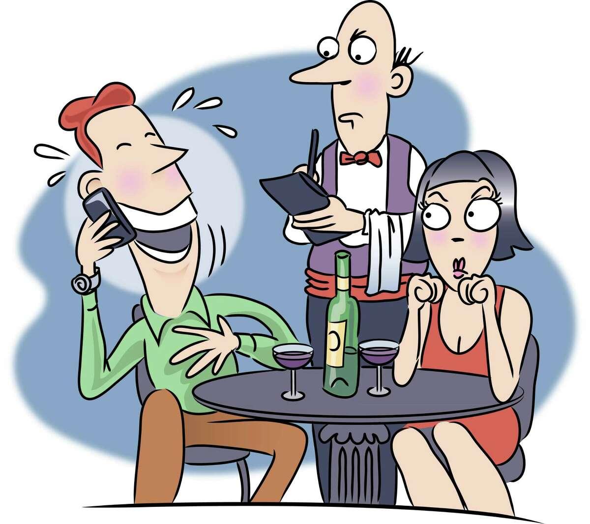 You ignore the server. Customers who don't listen as she recites the day's specials are one of Roxanne