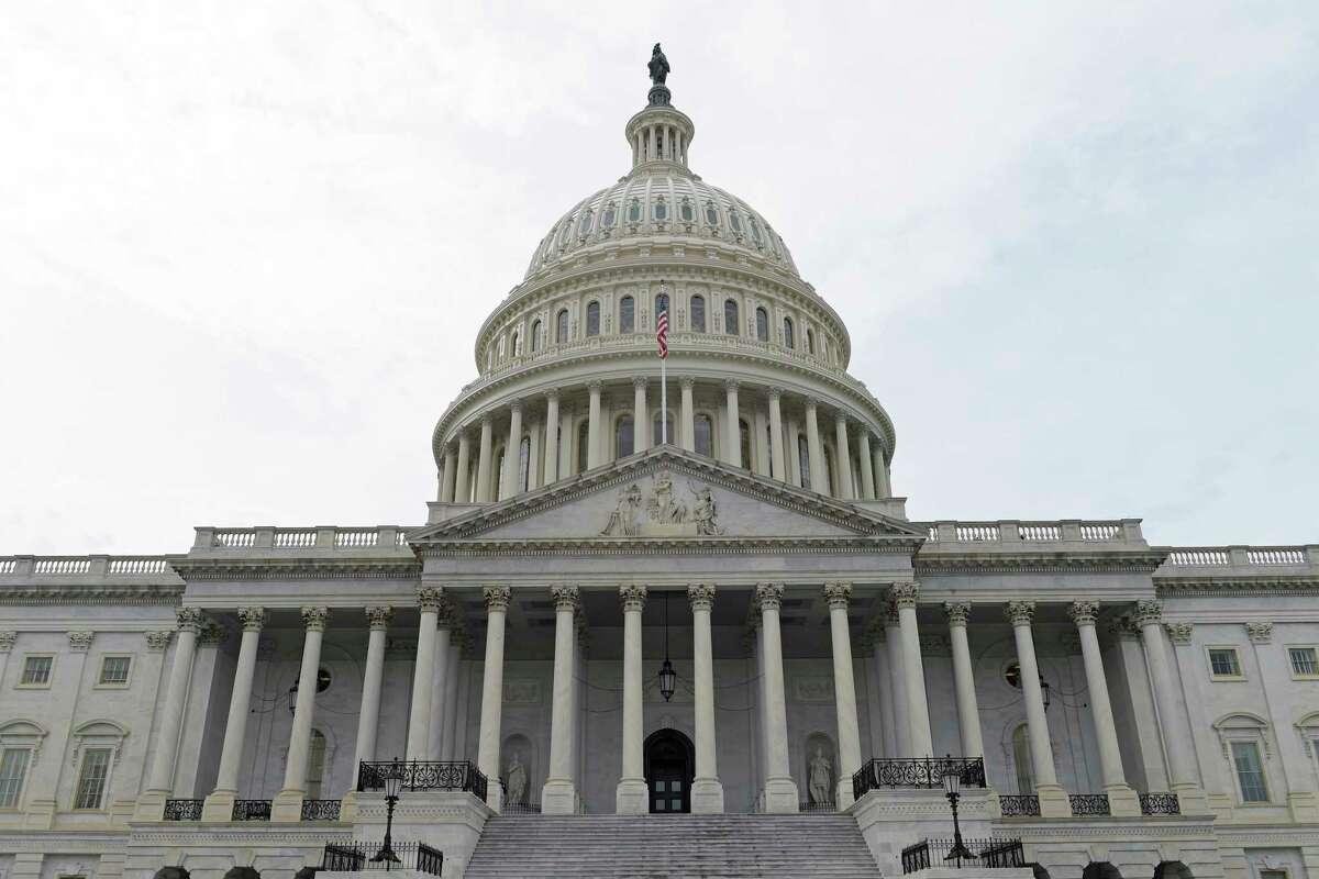 Capitol Hill in Washington.
