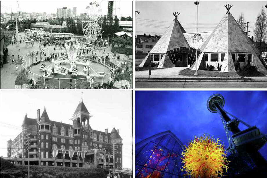 As the city develops into something almost unfamiliar to its longest residents, here's a look back at some of Seattle's most famous, infamous, or historic spots and what they've become. Photo: MOHAI, SEATTLEPI.COM File