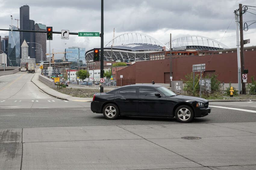 Here's what can be seen today from near the former Hooverville site in Sodo.