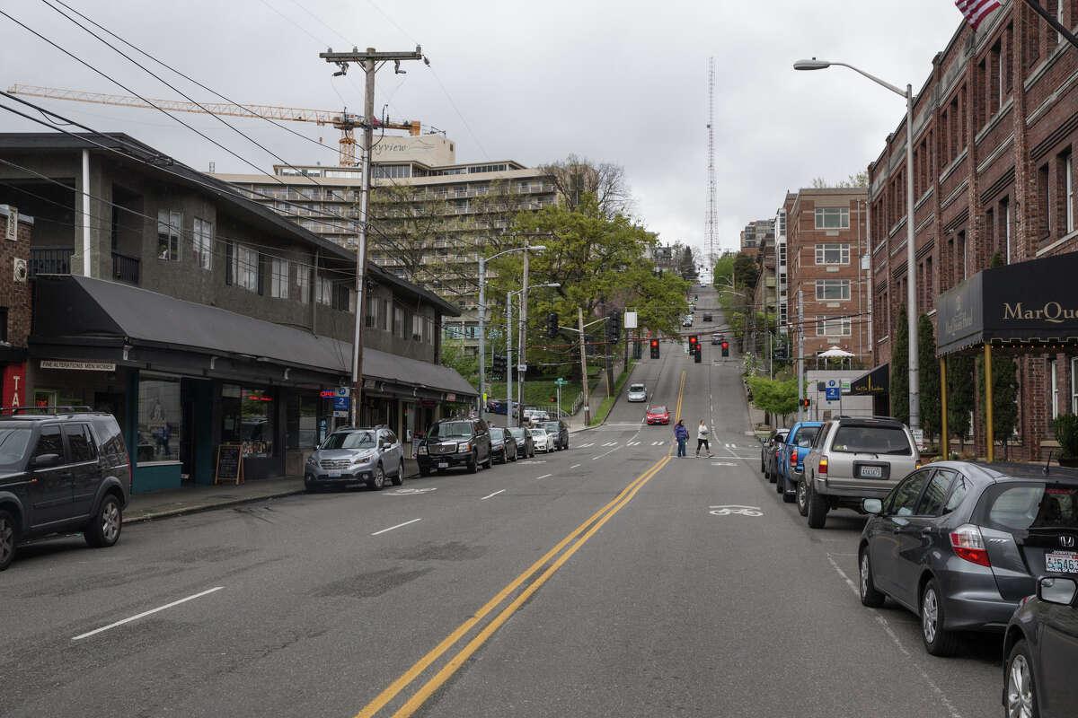 15. West Queen Anne Median one-bedroom July rent: $1,750