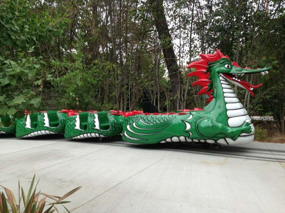 You've ridden Danny the Dragon at Happy Hollow Zoo more times than you can count. Photo: Jen C./Yelp