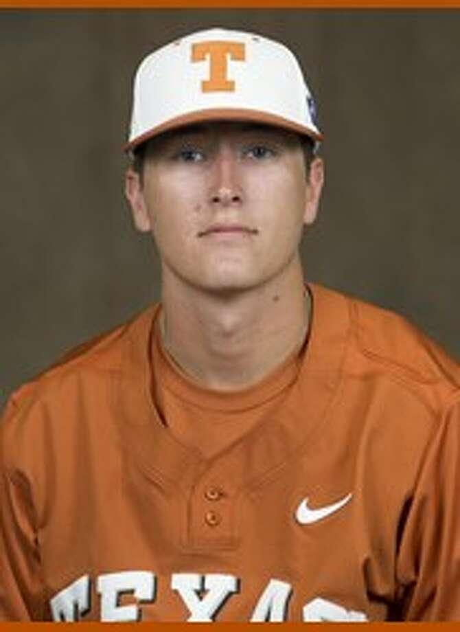 University of Texas pitcher Beau Ridgeway. 2015 College Park graduate. Photo: UT Sports Information