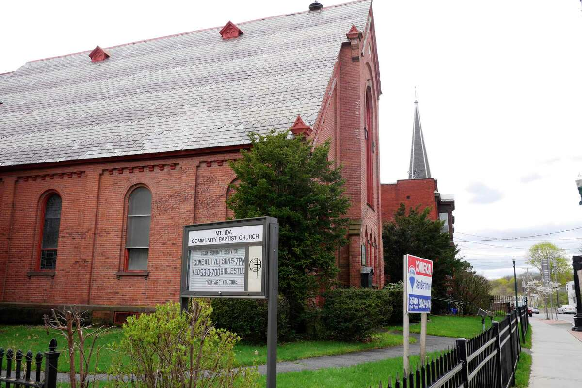 Click through the slideshow to see former churches in the Capital Region that have taken on new lives as living spaces, offices, restaurants and entertainment venues. The former Mount Ida Community Baptist Church at 560 Congress St. in Troy is in the middle of a conversion to a Collar City Brewing brewpub.