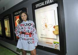 """IMAGE DISTRIBUTED FOR ARLA FOODS - Ayesha Curry, celebrity chef and author, attends the Arla Foods and No Kid Hungry """"Live Unprocessed"""" launch event, Tuesday, April 25, 2017, at Village East Cinema in New York. The Live Unprocessed films tackle a topic that's increasingly important to US consumers: what's really in the food that we're feeding our kids? (Photo by Diane Bondareff/Invision for Arla Foods/AP Images)"""