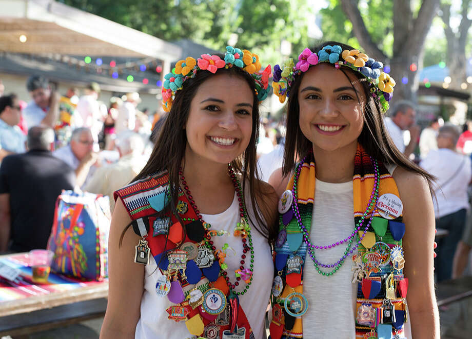 Fiesta Gartenfest celebrated Fiesta German-style, complete with a biergarten and German entertainment Wednesday, April 26, 2017. Photo: B. Kay Richter