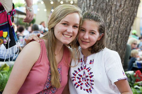Fiesta Gartenfest celebrated Fiesta German-style, complete with a biergarten and German entertainment Wednesday, April 26, 2017.