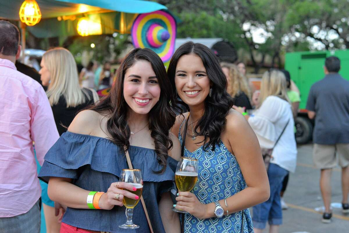 Dozens of Fiesta revelers and more than 50 restaurants gathered for the Taste of the Northside on Wednesday, April 26, 2017, benefiting the Brighton Center.