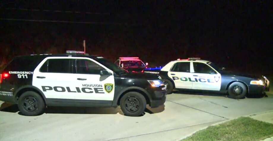 Police are investigating a crash Wednesday night in northeast Houston that left a man dead. (Metro Video) Photo: Metro Video
