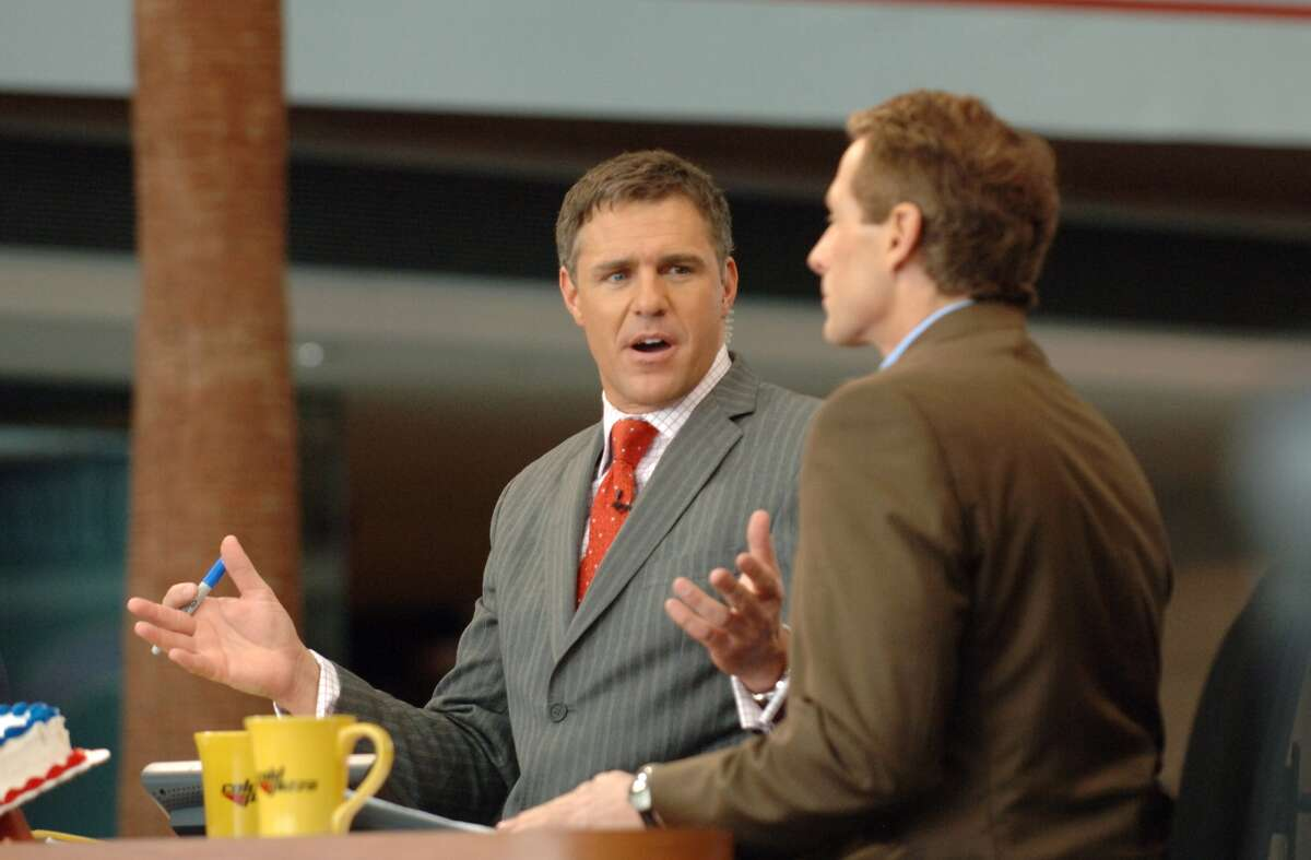 Jay Crawford joined ESPN as a show host for Cold Pizza in August 2003. Nine years later, Crawford became the anchor for SportsCenter. Previously, he was a sports director for Tampa Bay's WFTS-TV. On April 26, 2017, he was laid off along with 100 other ESPN staff.