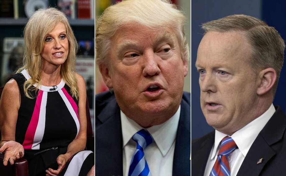 Trump's biggest falsehoodsDonald Trump's presidency has reached 100 days. Here are the claims fact-checkers have raised red flags on.Click through to see the biggest falsehoods to come from Donald Trump's White House.