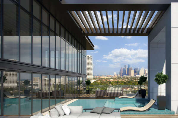 Rendering of The River Oaks, 3433 Westheimer.