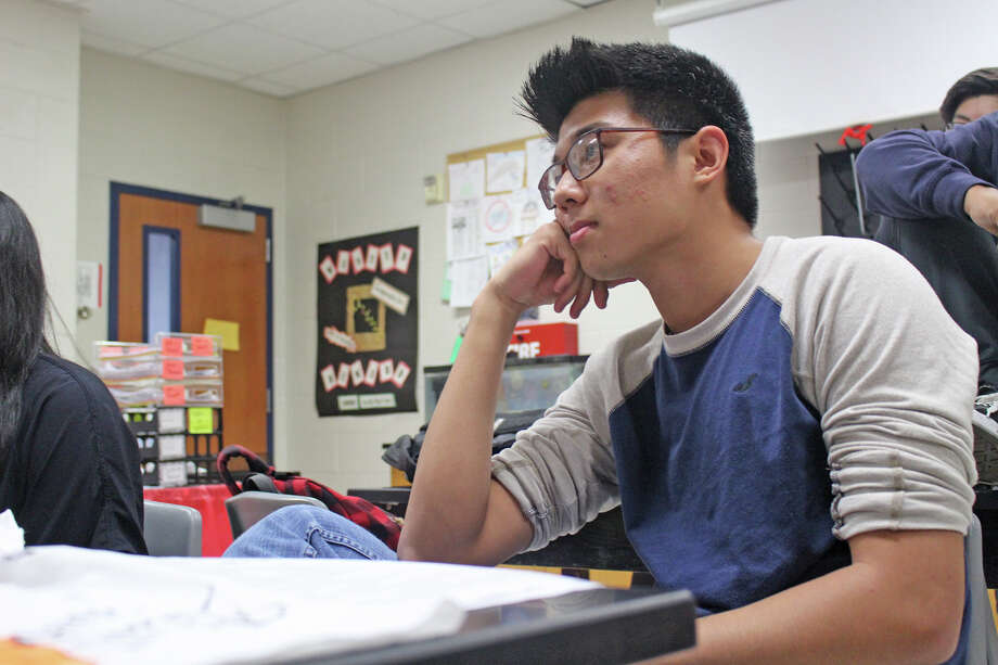 A perfect score of a 36 on the ACT does not come easy, but Cypress Ridge High School junior William Wang did just that when he took the test on Feb. 27, 2017. On average, less than one-tenth of 1 percent of those who take the ACT earn this top score, ACT Chief Executive Officer Marten Roorda stated in a letter to Wang recognizing his achievement. Photo: CFISD