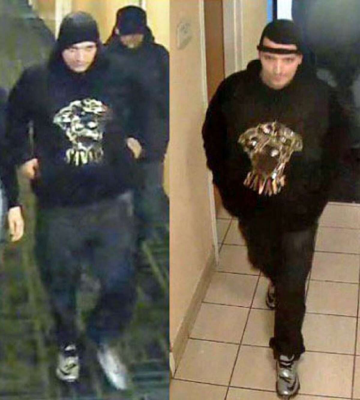 Milford police are looking for four suspects in the armed robbery of a man at Motel 6 early Wednesday morning April 12, 2017, who had $600 and his car keys taken.The robbery happened around 3:30 a.m. in what police said was a planned meeting of a woman, whom he only knows on a first name basis. On Thursday, April 27, 2017 police made an arrest in the case. Jacqueline Steck, 18, of Ellis Street, Milford, was taken into custody and charged with first-degree robbery, first-degree burglary, first-degree kidnapping with a firearm. criminal use of a firearm and first-degree larceny.