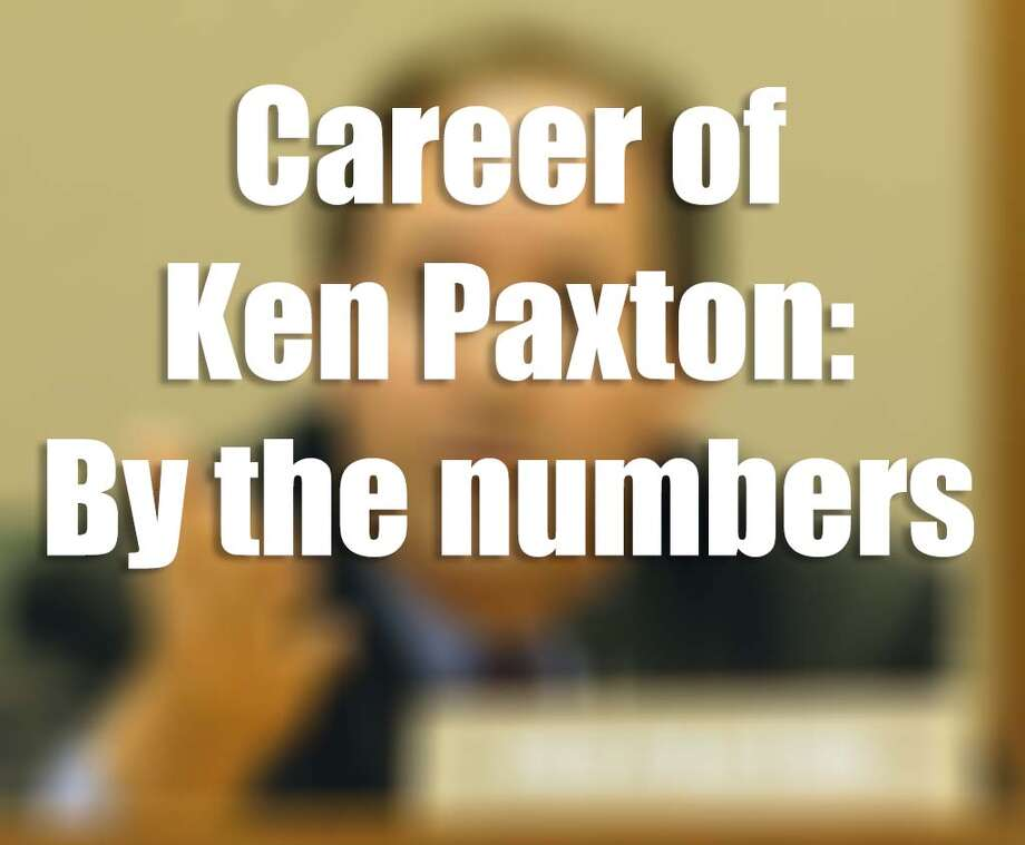 Here are some hard numbers on Texas Attorney General Ken Paxton.