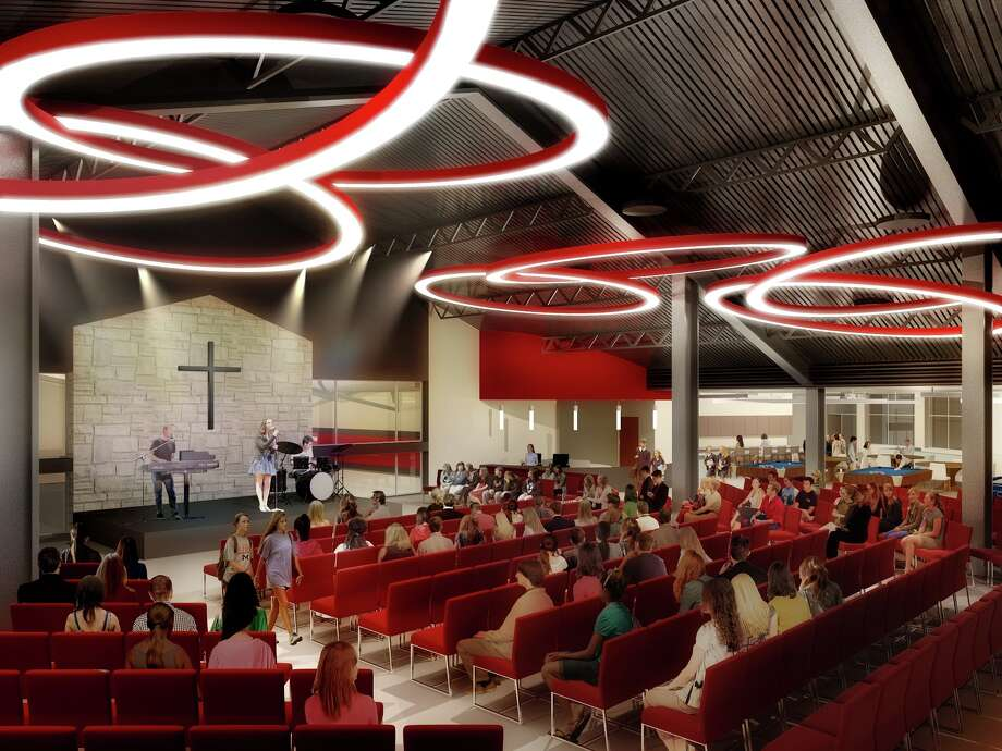 Christ the Redeemer Catholic Church in Cypress is breaking ground in May on a new activity center to accommodate its growing congregation, said Pastor Sean P. Horrigan.The church has nearly doubled its congregation in the last decade, growing to 6,500 families from 3,500 in 2007. In 2000, there were 2,000 families at Christ the Redeemer. Photo: Christ The Redeemer Catholic Church