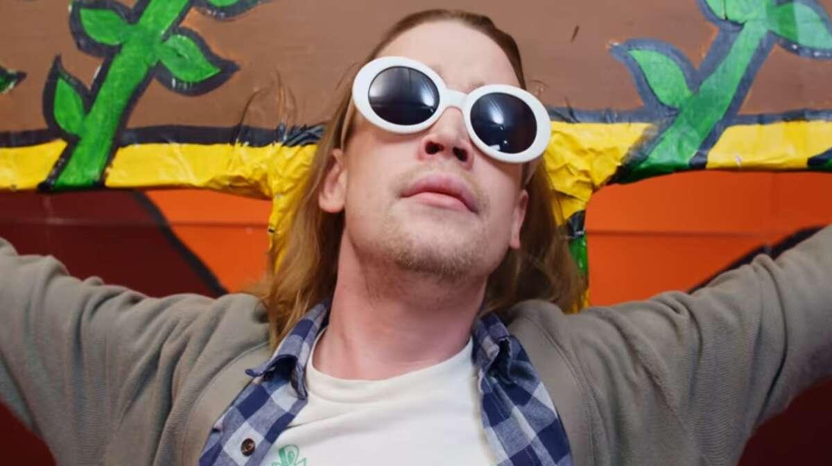 Macaulay Culkin took a turn (and a crucifixion) as Kurt Cobain in Father John Misty's video.