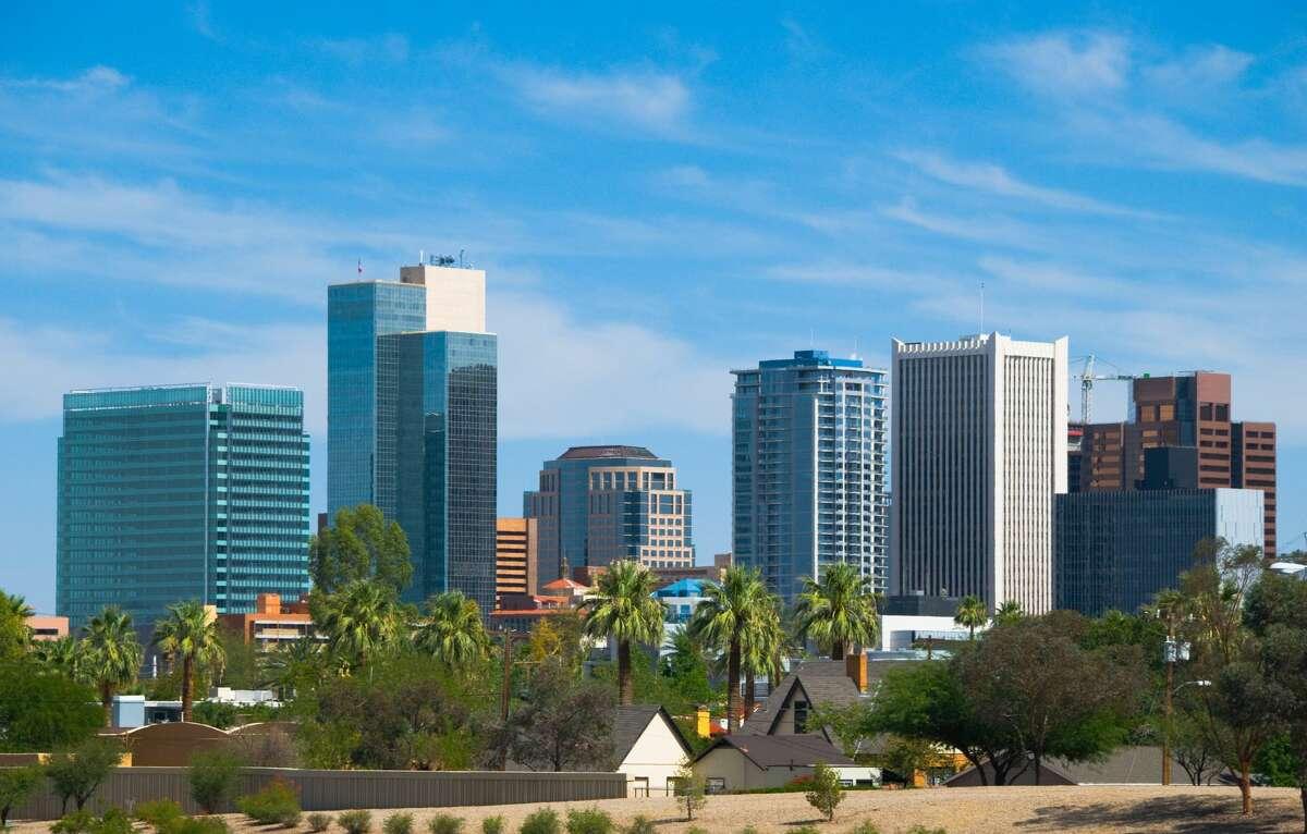 Phoenix, Arizona Increase in Cost to Live Comfortably: $12,603.84 Percentage Increase to Cost to Live Comfortably: 23.69 percent