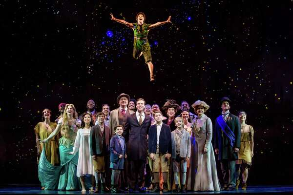 """The cast of """"Finding Neverland,"""" the touring production."""
