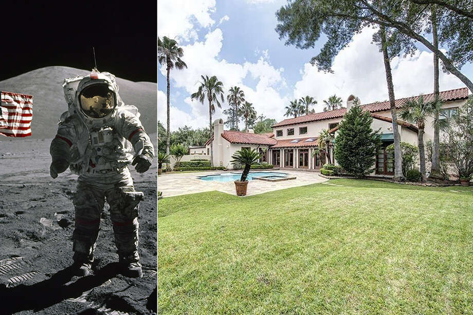 The family of the late NASA astronaut Gene Cernan—the last man on the moon—has put his 6,067-square-foot, Houston-area mansion on the market for $2.55 million. Photo: Realtor.com / Getty Images