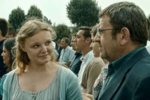 "Adrian Titieni and Maria-Victoria Dragus in director Cristian Mungiu's film ""Graduation."" MUST CREDIT: Sundance Selects"