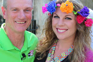 KSAT anchors David Sears and Myra Arthur received mixed reviews after they co-hosted this year's telecast of the Texas Cavaliers River Parade.