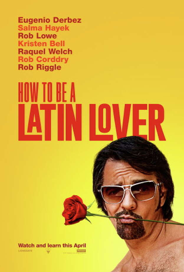 """Poster of the movie """"How to be a Latin Lover"""" with Mexican comedian Eugenio Derbez. Photo: Lionsgate"""