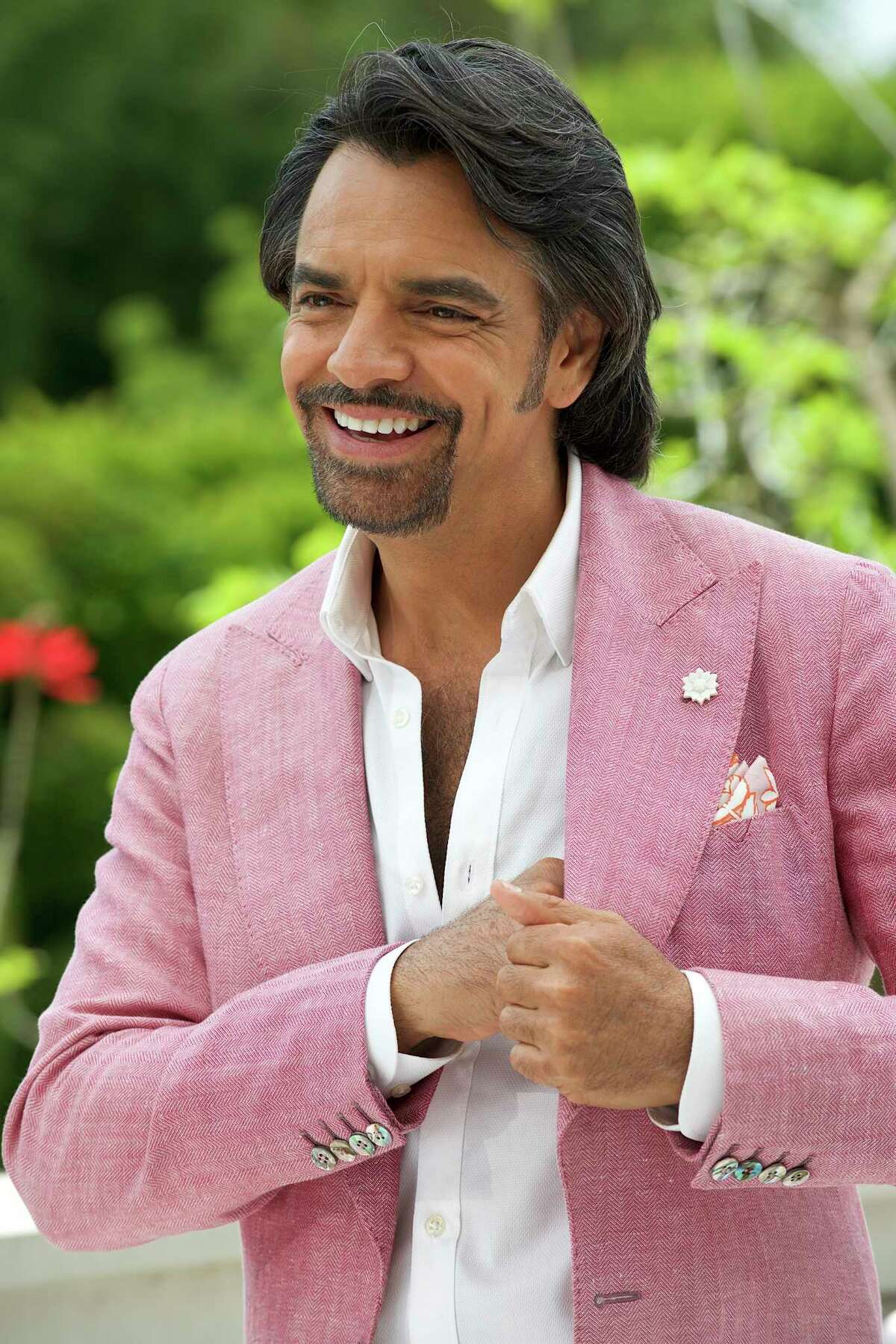 """Eugenio Derbez as Maximo in the comedy movie """"How to be a Latin Lover."""""""