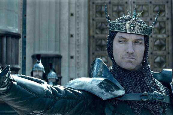 "Jude Law in ""King Arthur: Legend of the Sword."" (Warner Bros.)"