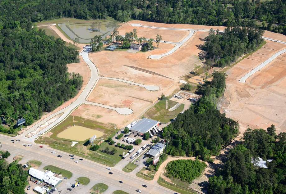 Land Tejas has started development of an 111-acre community in Conroe called Wedgewood Forest. The community is north of Highway 105 at Wedgewood Park, about midway between Lake Conroe and Interstate 45. Photo: Land Tejas