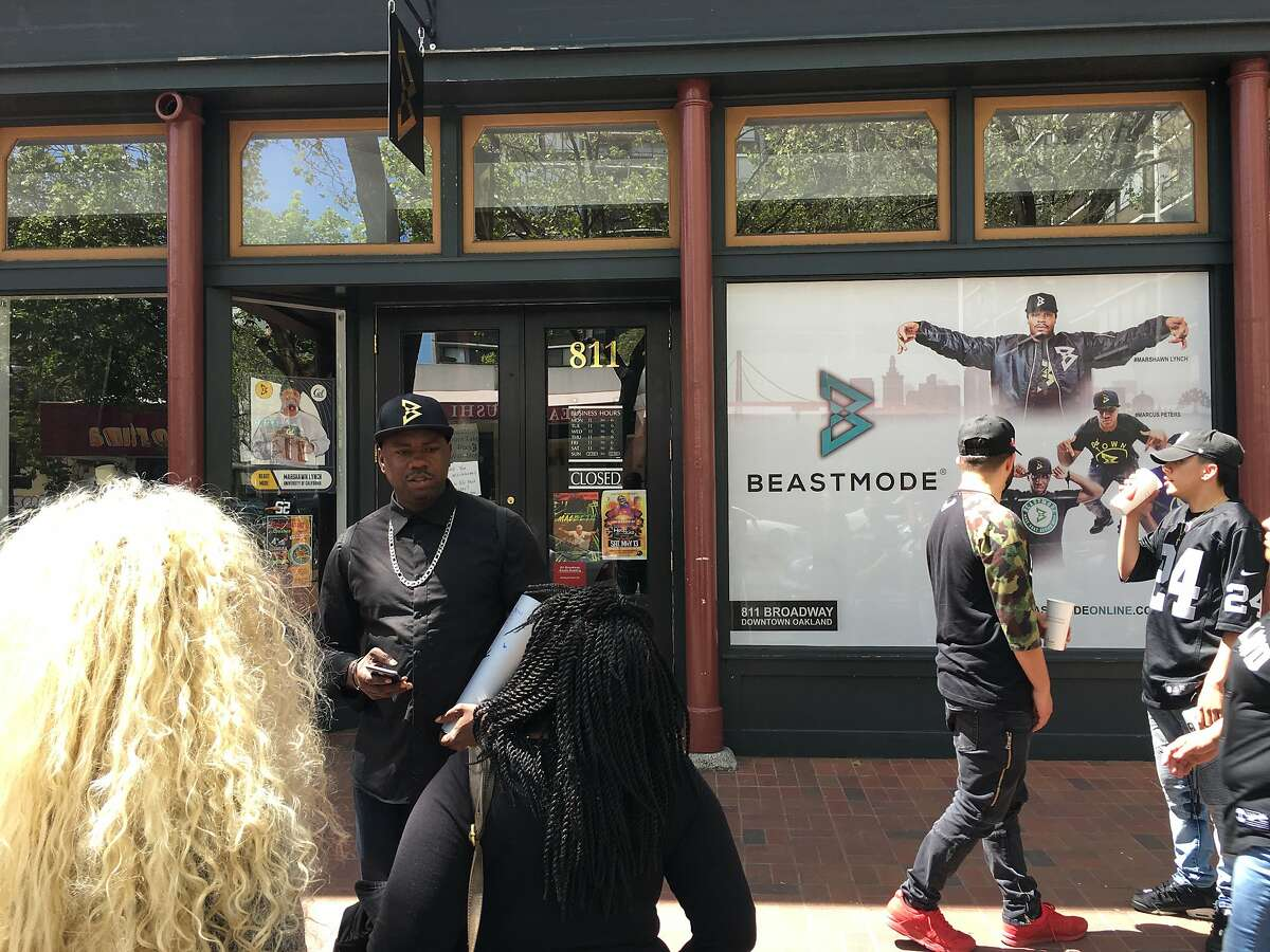 Beast Mode 811 Broadway Load up on Oakland-inspired gear at Marshawn Lynch's flagship store. Who knows? You might even see the man himself while you're there.