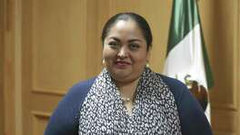 Ambassador Reyna Torres Mendivil, seen April 27, 2017 in her office, became the Consul General of Mexico in San Antonio, on April 16, 2017. She has been in the Mexican Foreign Service Service since 1991.