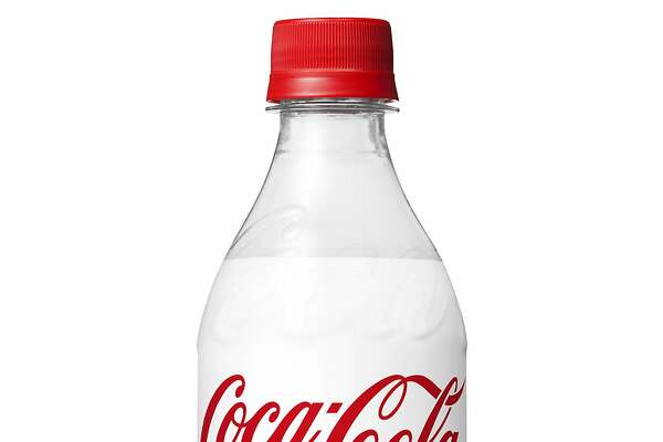 This image provided by The Coca-Cola Company shows a bottle of Coca-Cola Plus. Coke has introduced this version of its cola with fiber in Japan. The company says the drink is being marketed to people who are 40 and older in the country, which has the world's largest aging population. Drinks promising health benefits are common in Japan. (The Coca-Cola Company via AP)
